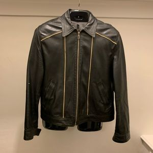 Versace Classic leather jacket - very worn